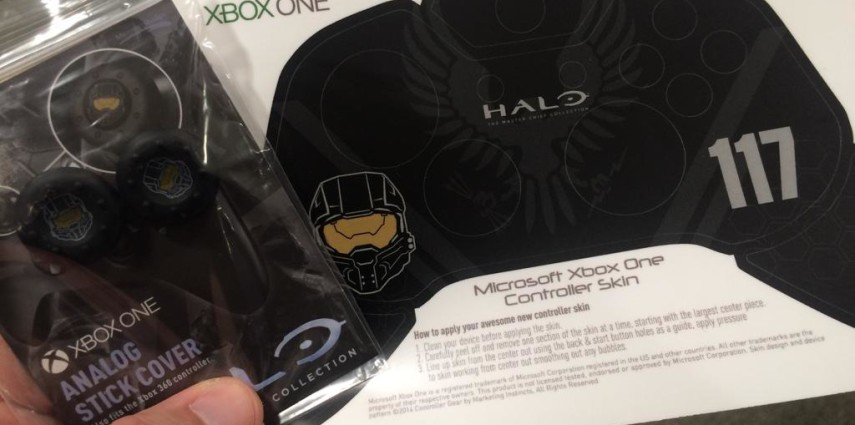 Marketing Instincts Controller Gear Halo Day Swag